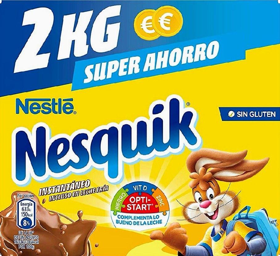 Nesquik - Cacao Soluble - 2 kg (precio al tramitar)
