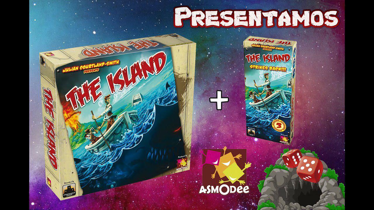 The Island + expansión Strikes Back. Juego de mesa