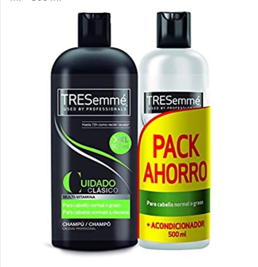 Tresemmé Clásico Pack Champú y Acondicionador - 900 ml + 500 ml (compra recurrente)