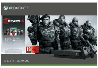 Microsoft Xbox One X, 1TB + Gears Of War 5 (Reaco)