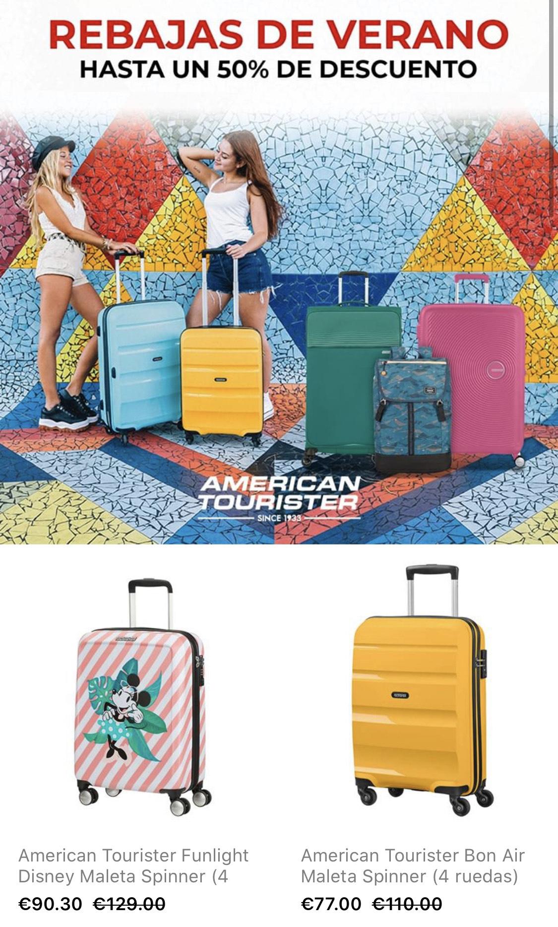 American Tourister - Rebajas hasta el 50%