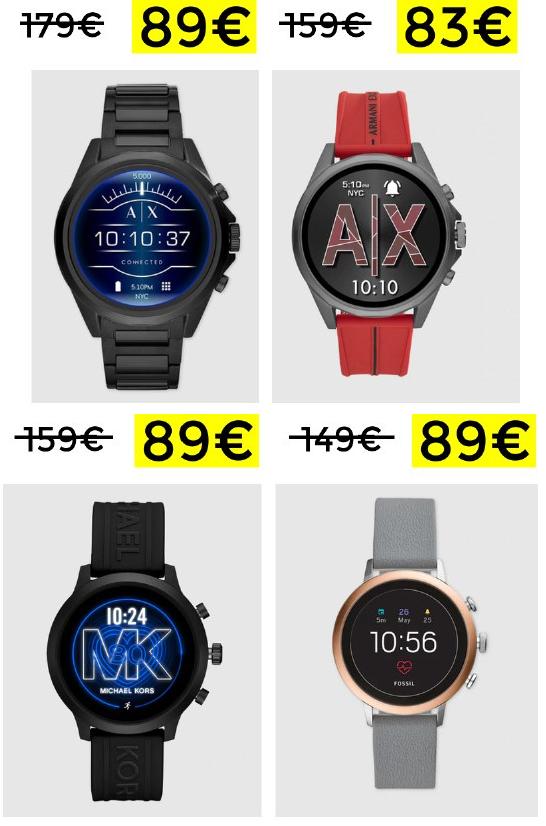 Hasta 50% en Smartwatch Armani, Michael Kors, Fossil y más