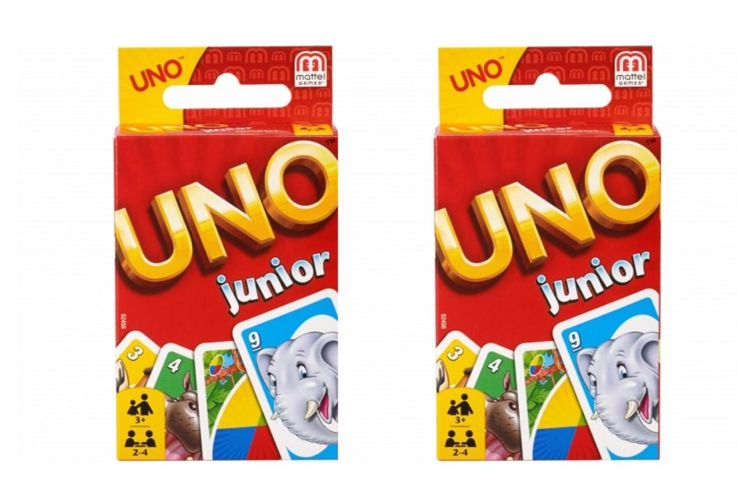 2 x UNO Junior por 3,95€ (Tienda física)