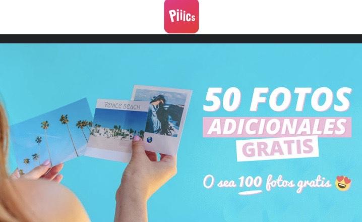 100 FOTOGRAFÍAS GRATIS PAGA SÓLO EL ENVÍO