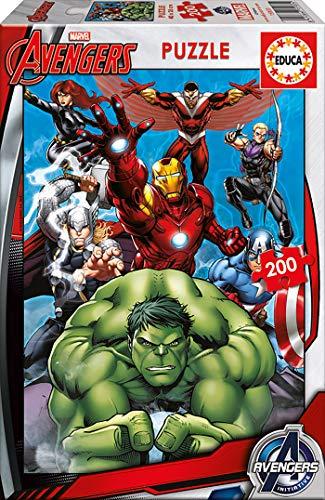 Avengers, Puzzle infantil de 200 piezas