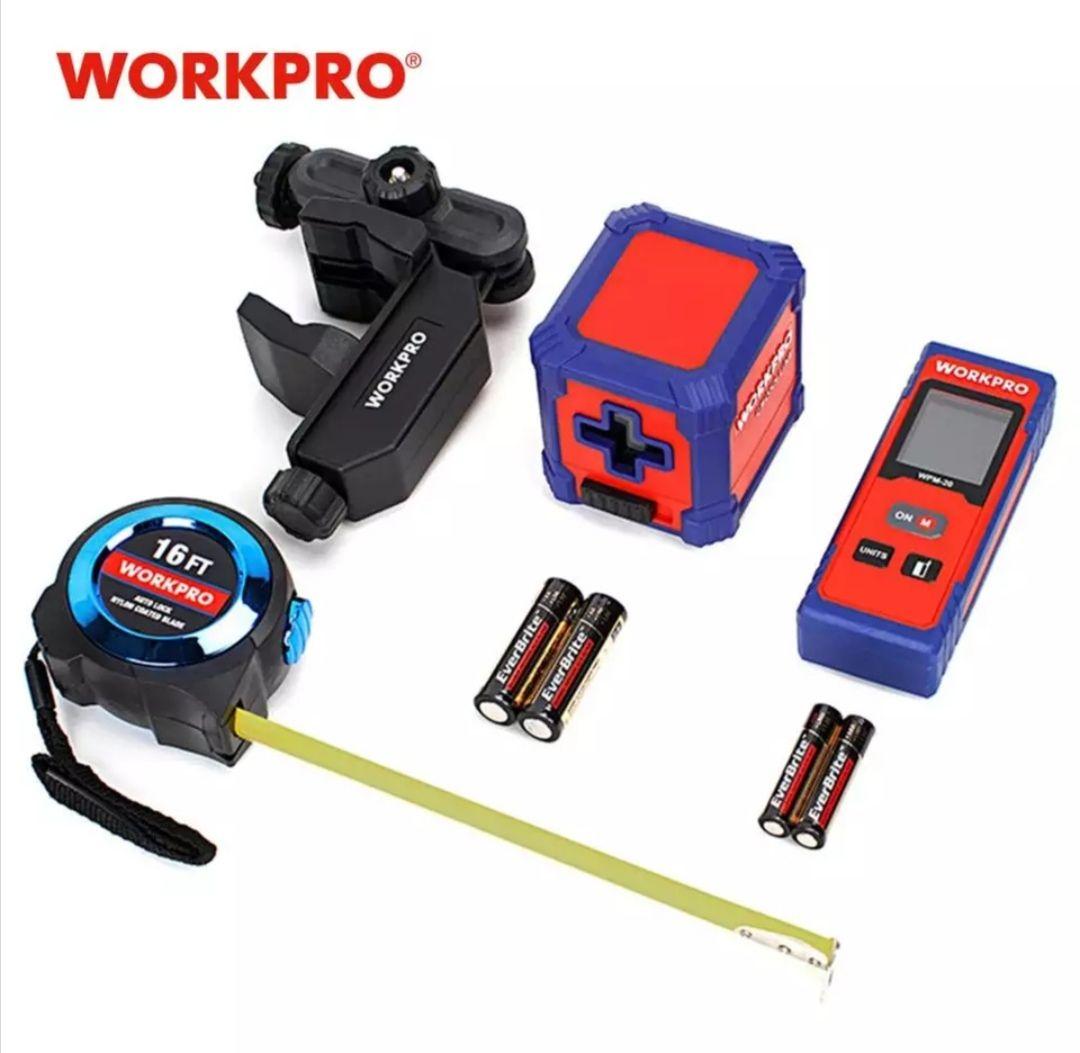 Set de 3 herramientas de medida WorkPro