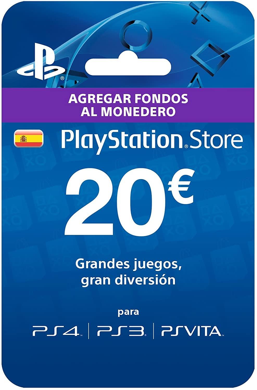 Pagas 12€ por Tarjeta 20€ PlayStation Store