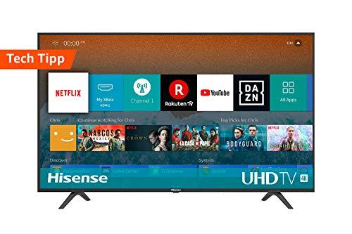 """TV Hisense H50BE7000 4K UHD con Alexa integrada - HDR 10 - Dolby DTS por 309,99€ y de 55"""" por 359,99€"""