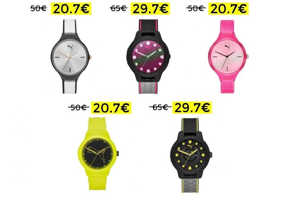Bajada de precio en relojes deportivos Puma
