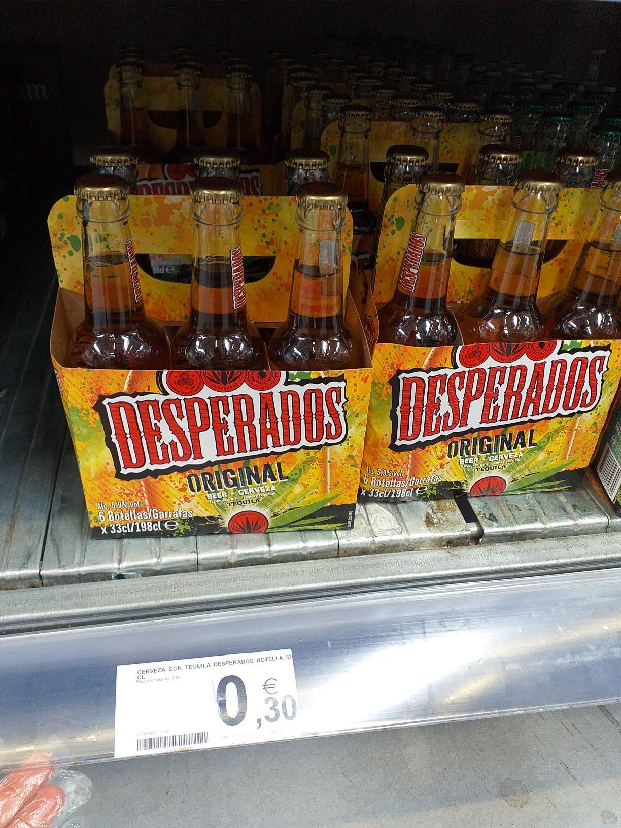Cerveza Desperados