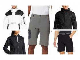 Ropa Columbia, pantalon corto senderismo, cortavientos hombre y mujer y shorts hombre.