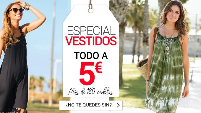 Selección de vestidos de verano a 5€