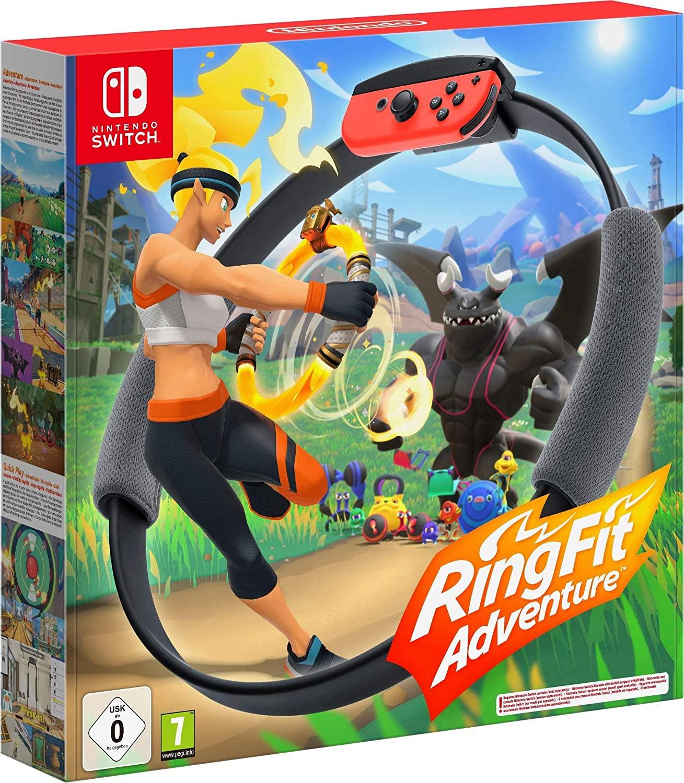 Nintendo Switch Ring Fit Adventure Desde Amazon Francia con una tarjeta gamivo (Chollo N*200)
