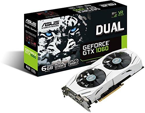 ASUS NVIDIA GEFOCE 1060 6GB GDDR5