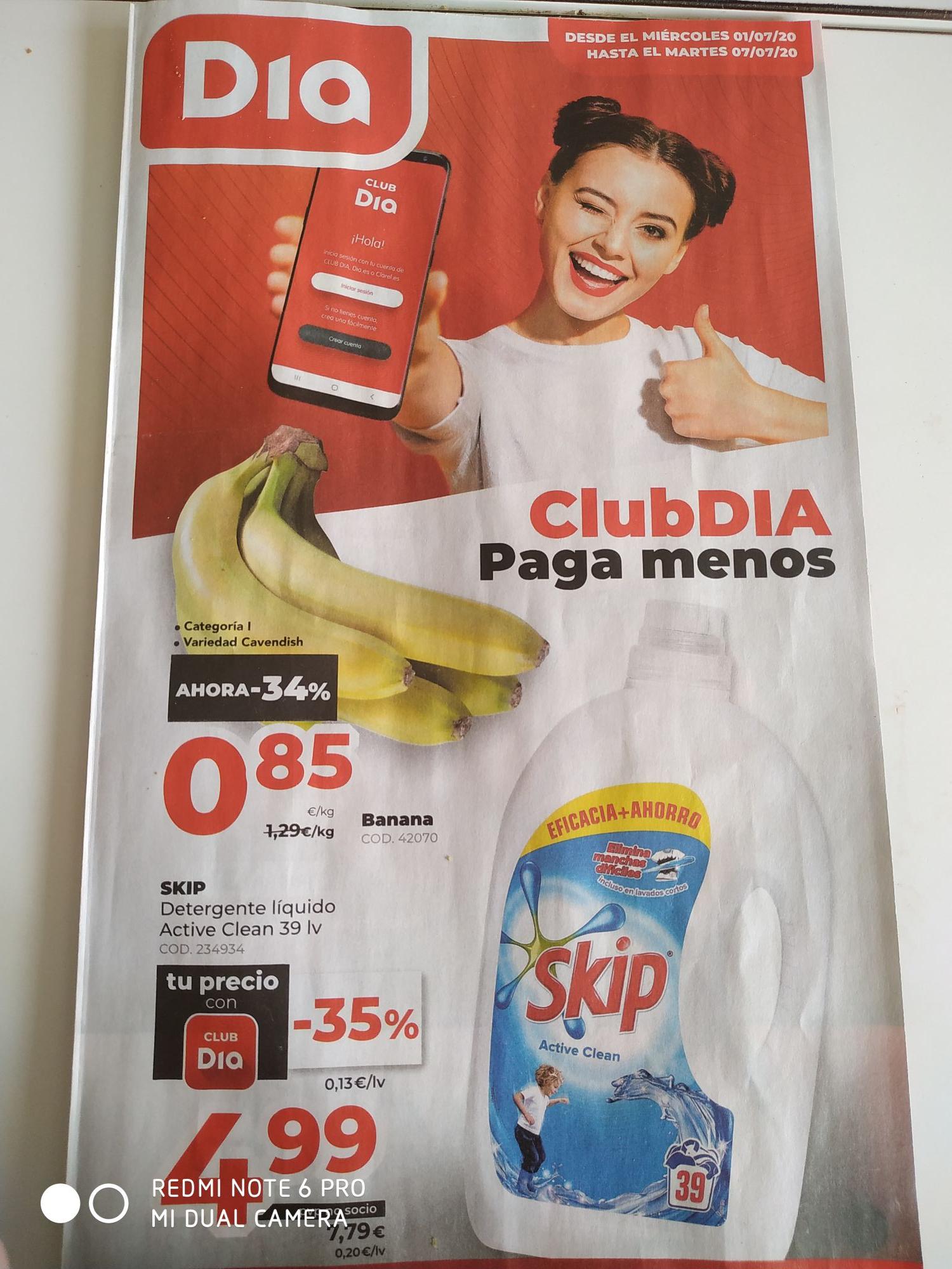 Detergente Skip 35%