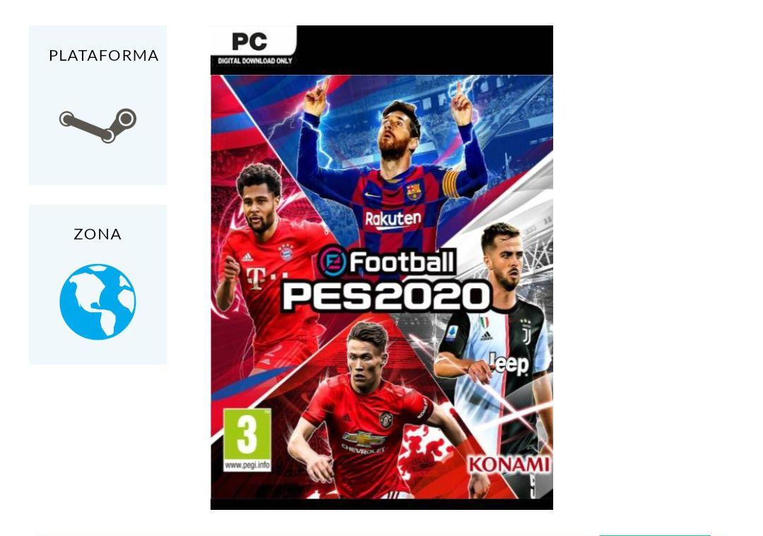 eFootball PES 2020 PC Steam