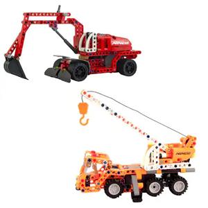 Excavadora o Grúa Tecnic Wheel 270 piezas (AlCampo)