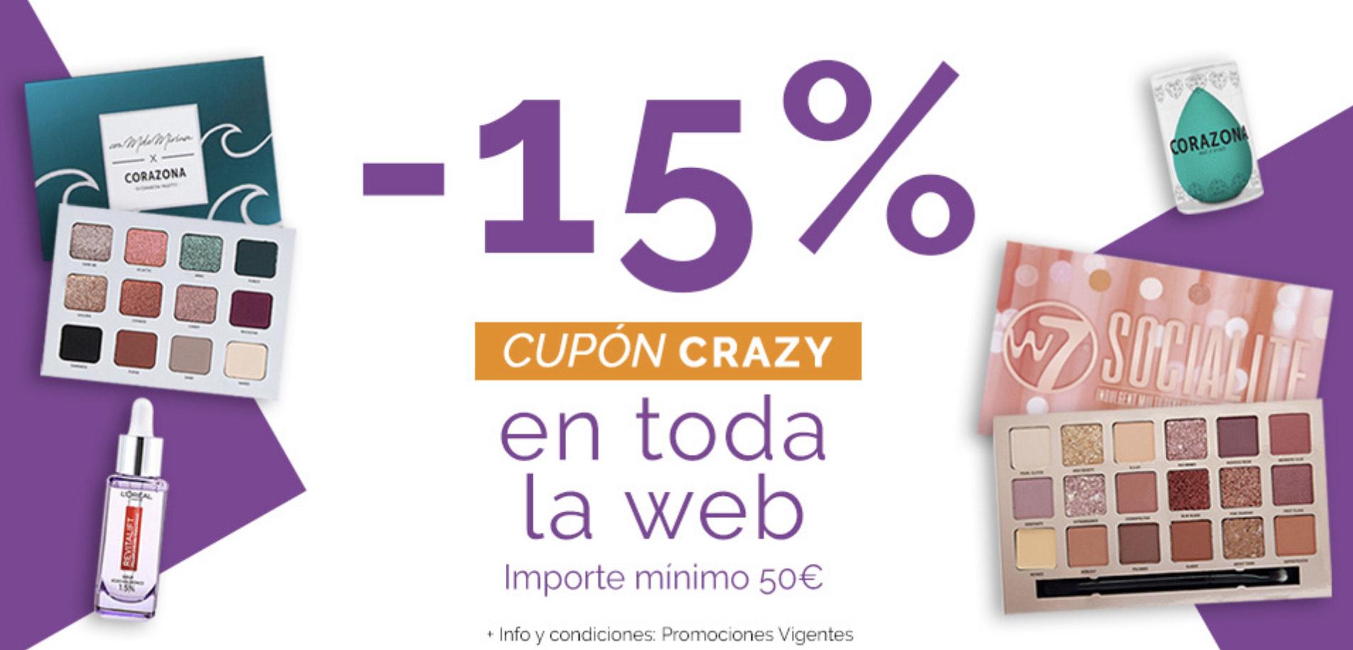 15% de descuento en Maquillalia (compras de 50€ o más)