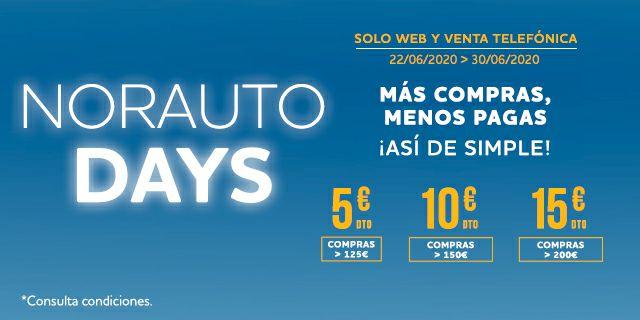 Norauto Days - 5€/10€/15€
