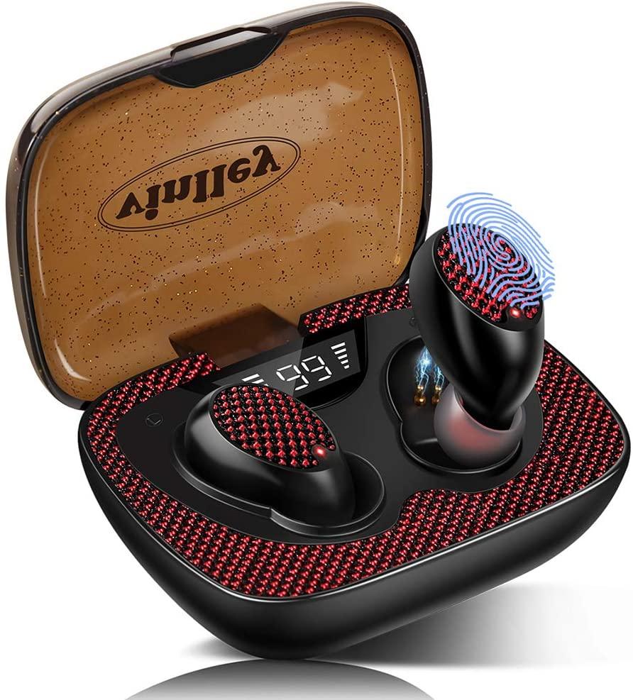 vinlley Auriculares Bluetooth 5.0 Deportivos