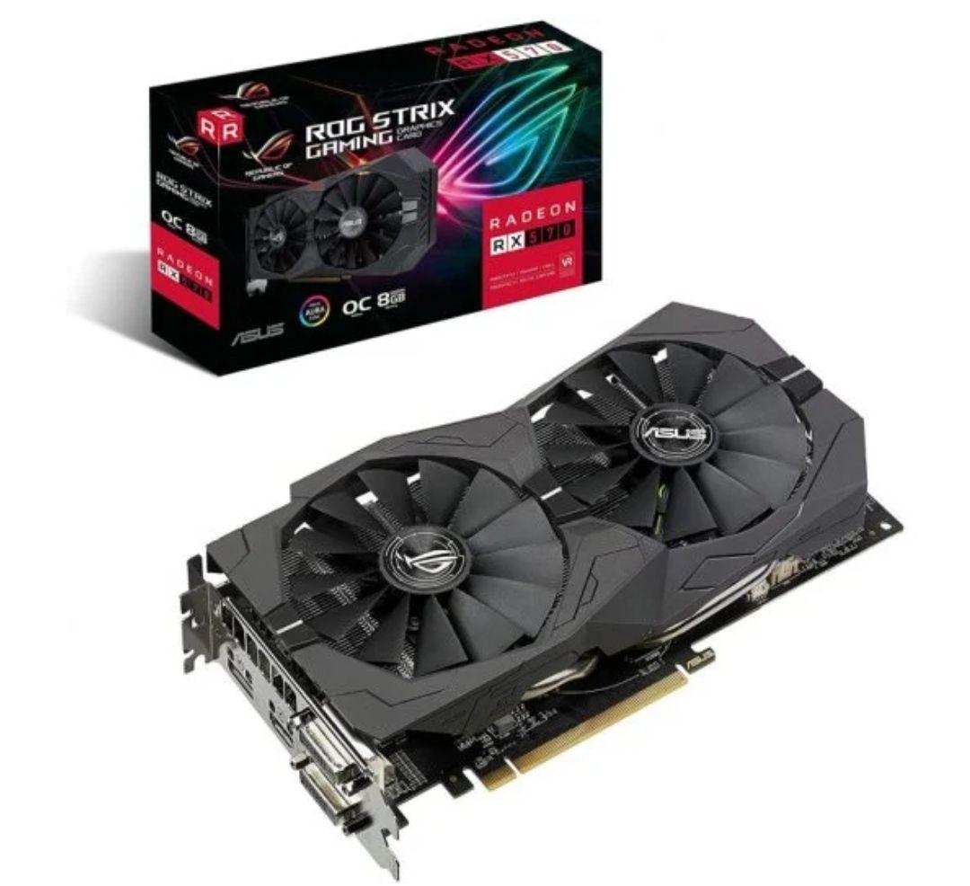 Asus ROG Strix Radeon RX 570 OC Gaming 8GB GDDR5 *Mínimo*