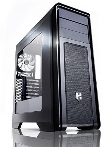 XEON 1650 (similar al Ryzen 1600) + RX 570 8gb + NVME 500gb + 16gb RAM