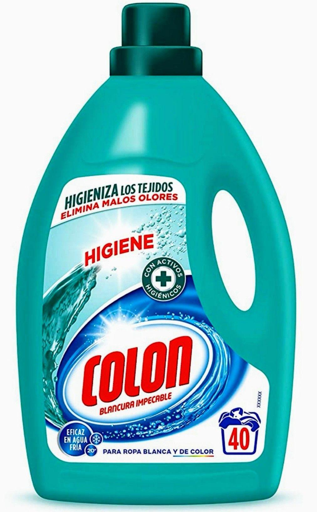 Colon Detergente Líquido Higiene - 40 dosis. (precio al tramitar)