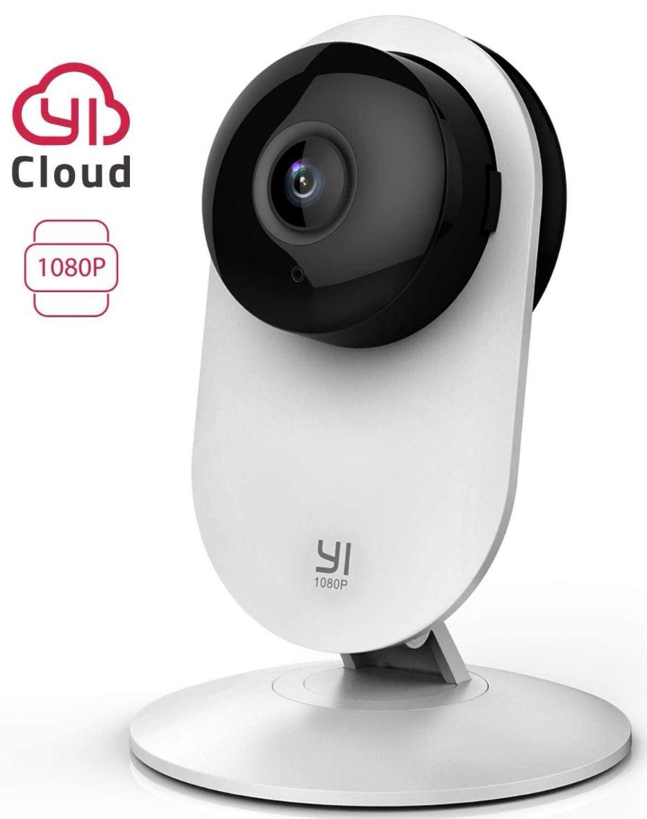 Cámara Vigilancia, Cámara IP Wifi 1080p, Detección de Movimiento, Visión Nocturna