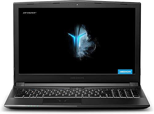 Medion ERAZER P6605 - (Intel Core i5-8300H, 8GB RAM, 256GB SSD + 1TB HDD, GeForce GTX 1050-4GB - Full HD