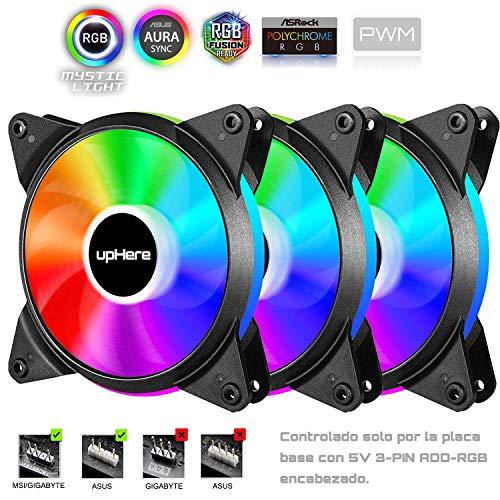 upHere PC FAN 120mm PWM + RGB