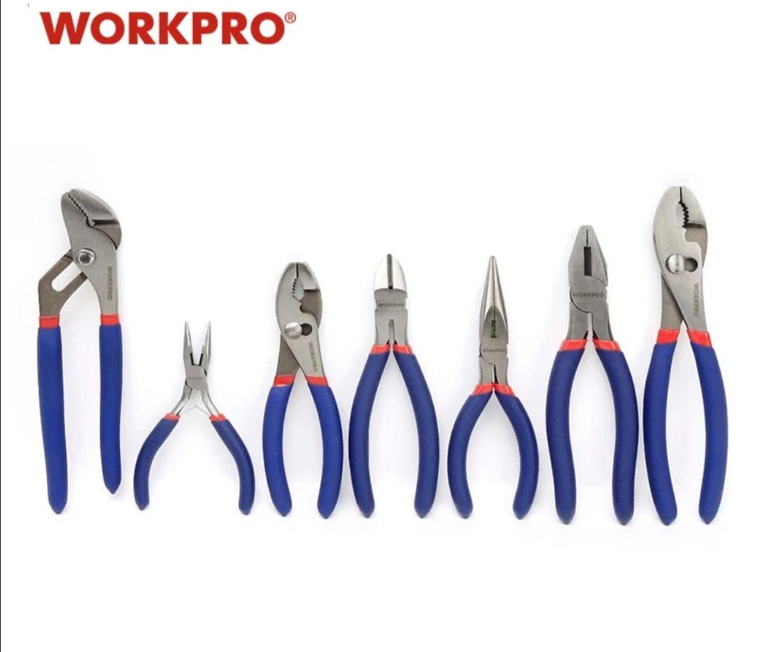 Set de pinzas y alicates WorkPro