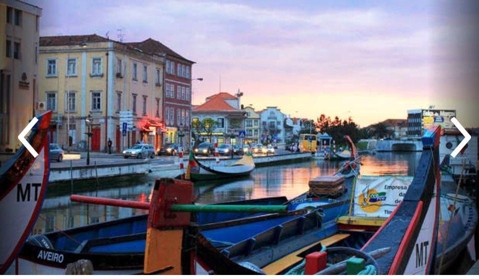 Aveiro (Venecia Portuguesa) 3 noches hotel 3* + Desayunos+ Paseo en barco+Jacuzzi+ Detalles (Julio)