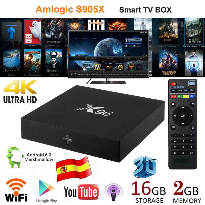 TV Box X96 2GB/16GB - Android TV