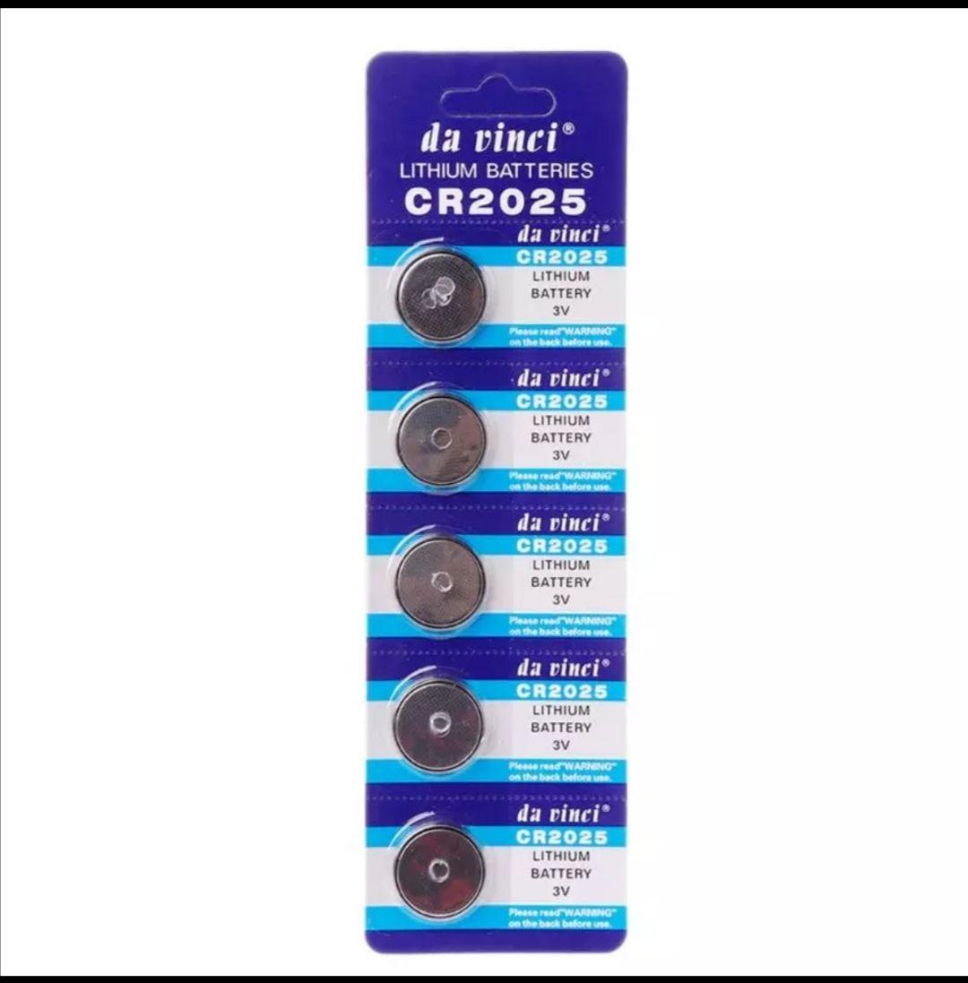 Pack 10 baterías Litio CR2025
