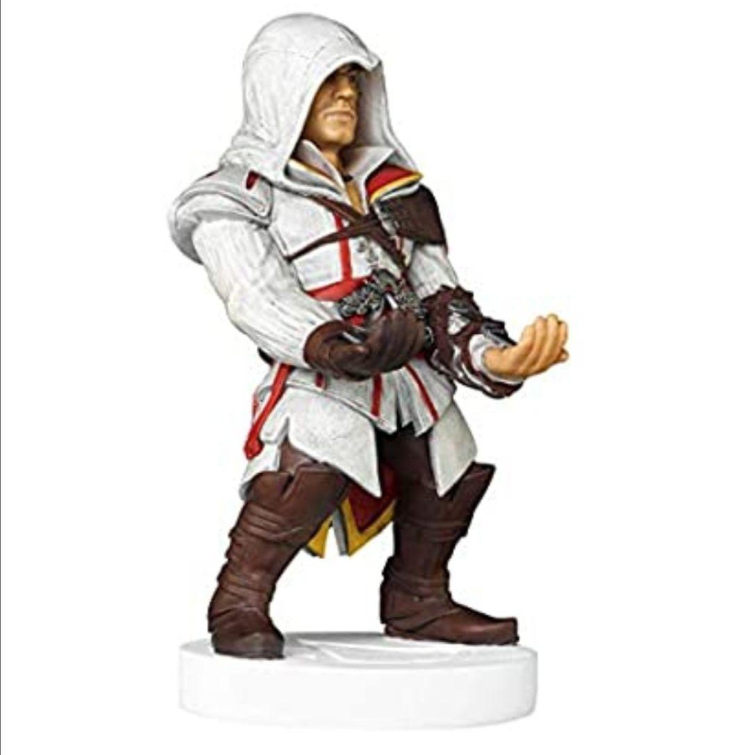 Cable guy Ezio de Assassin's Creed, soporte de sujeción o carga para mando de consola y/o smartphone
