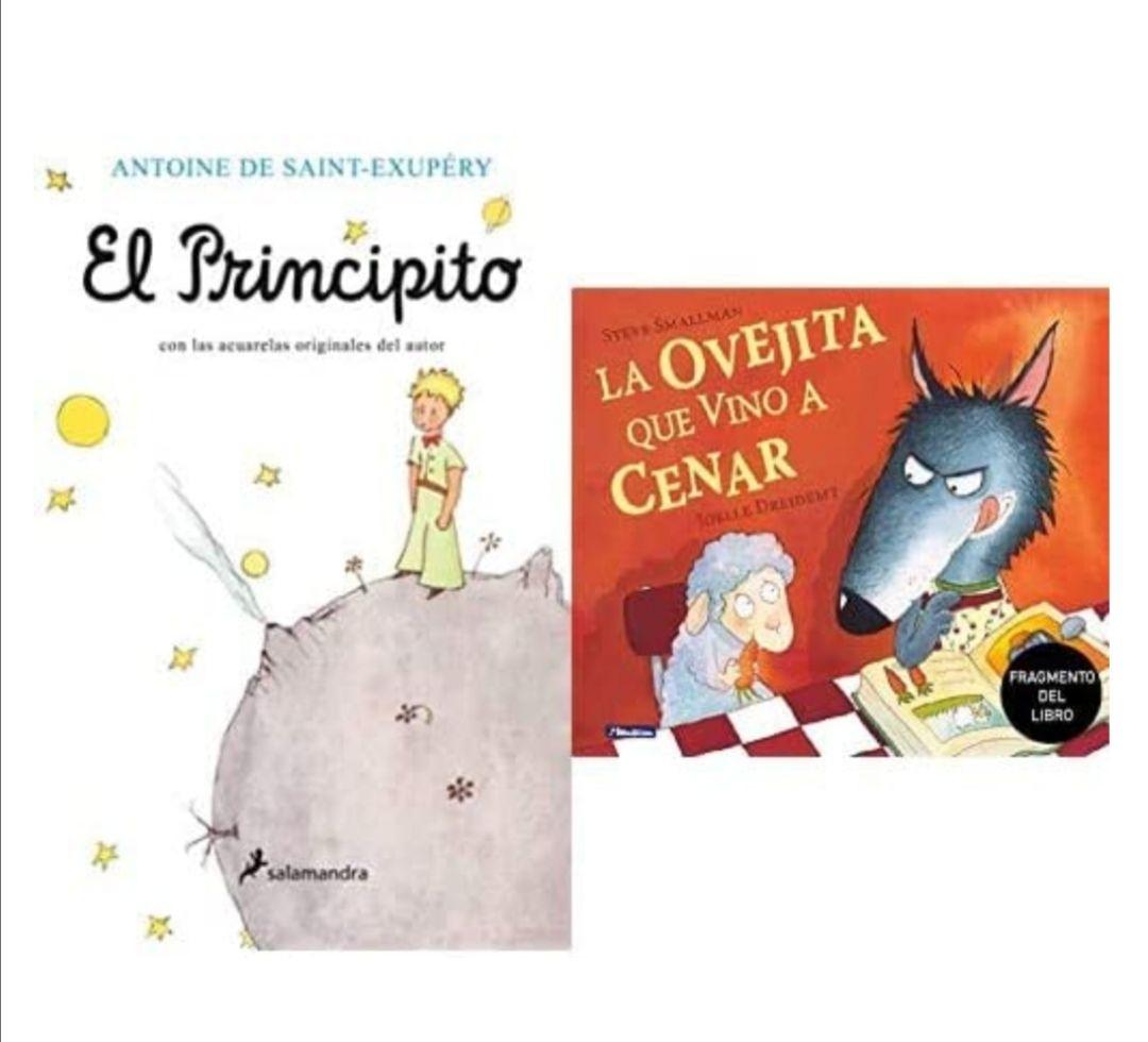 El Principito (Infantil) + Promoción fragmento del libro La ovejita que vino a cenar.