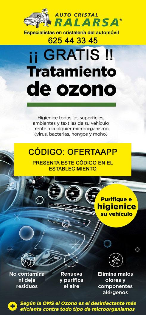 Tratamiento de ozono GRATIS en taller Ralarsa de Priego + Revista Ralarsa Club en PDF