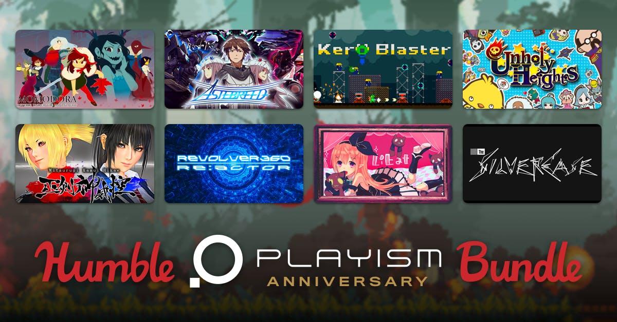 Humble PLAYISM Anniversary Bundle (pack de juegos PC hechos en Japón)