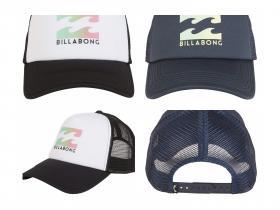 BILLABONG™ Podium - Gorra de Visera Curvada para Hombre en 2 colores.