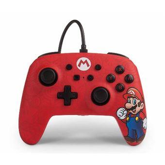 Mando PowerA para Nintendo Switch Mario