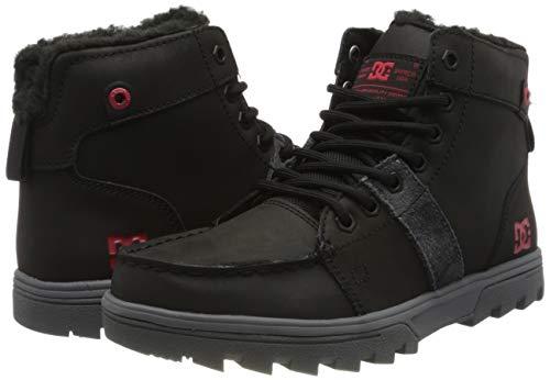 TALLA 42 - DC Shoes (DCSHI) Woodland-Sherpa Winter Boots For Men, Botas de Nieve para Hombre
