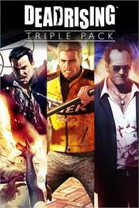 XBOX ONE: Paquete triple de Dead Rising por 12,49€ o los tres juegos individualmente por 5,99€/ud.