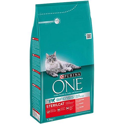 Pienso para gatos esterilizados Purina ONE Bifensis 1.5KG (PANTRY)