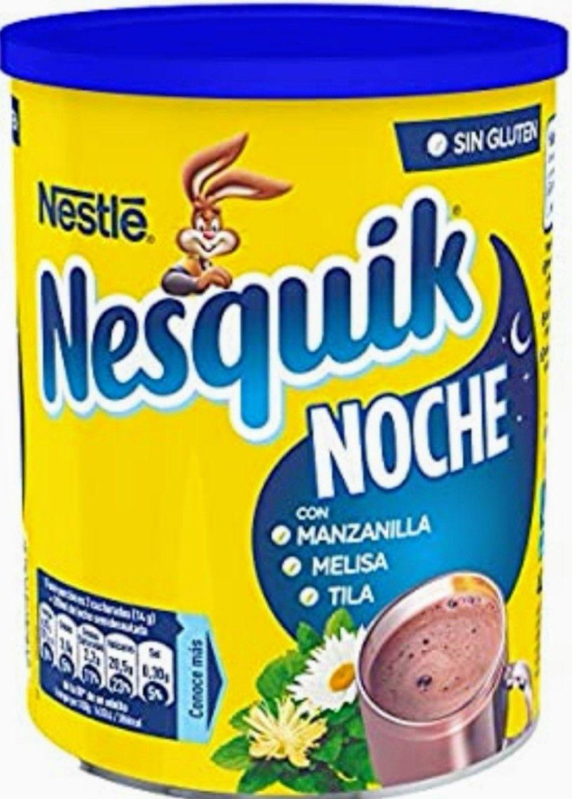 (PACK de 6 x 400g) Nesquik Noche Cacao Soluble Instantáneo (precio al tramitar) 2.09 unidad.