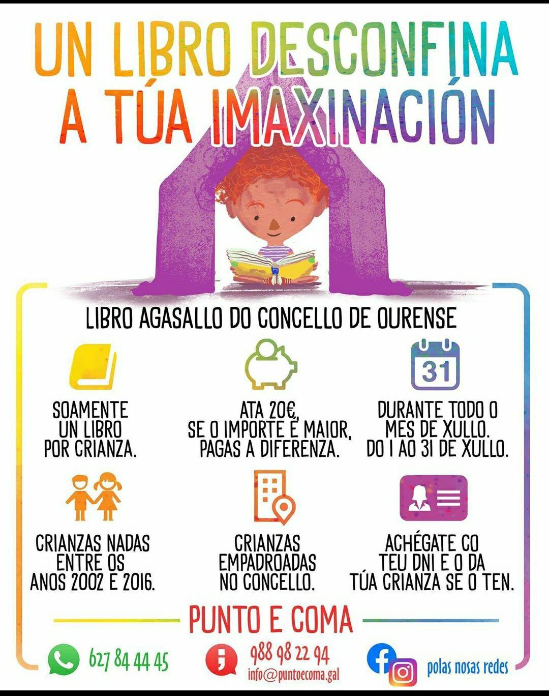 Libro gratis para niños en Ourense