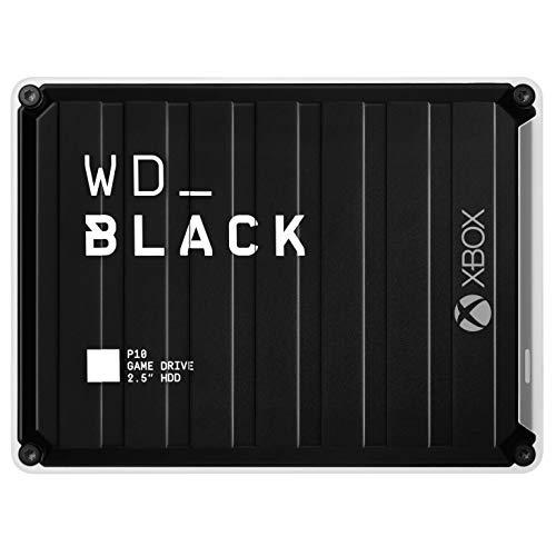 WD Black P10 - Game Drive 5 TB para Xbox