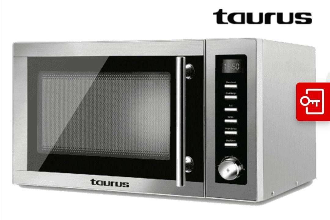 Microondas - Taurus Laurent, Grill, 25 litros, Potencia 900 W