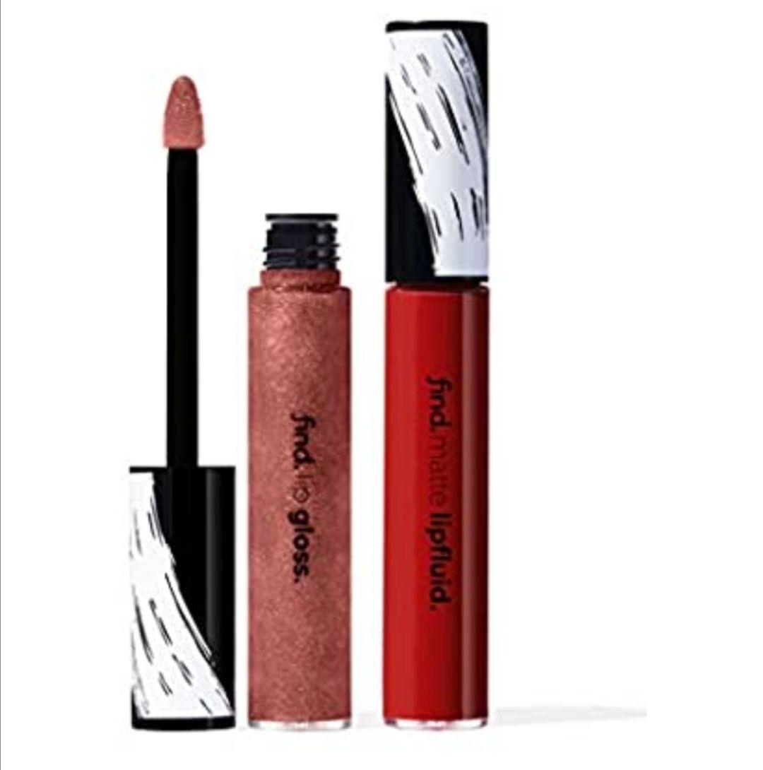 FIND - Eclectic Choice (Líquido de labios mate n.7 + Brillo de labios n.7) Producto en preventa.