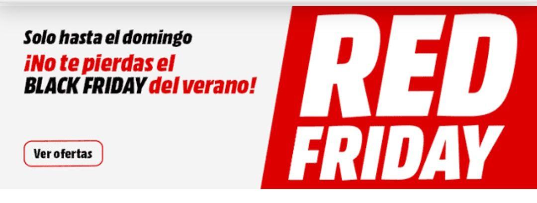 Red Friday Mediamarkt sólo 5 días