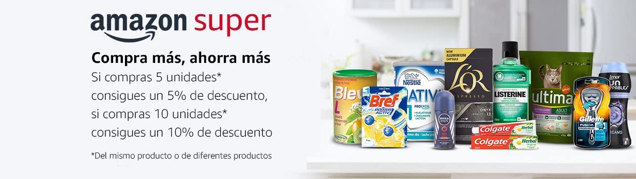 (Supermercado Amazon) 10% de dto llevando 10 artículos // 10 paquetes de calamares Calvo por 14€